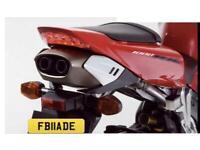 FB11ADE Cherished Reg, Ideal 'Fireblade' Private Plate for Honda CBR1000R Bike Standout numberplate