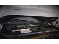 Thule Touring M Roof Box New with fittings, documents and keys x 2