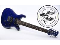 Paul Reed Smith SE Custom 24 7 String Flame Top Royal Blue & PRS Gig Bag