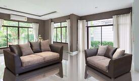 ❤Amazing New Colors Available❤ Brand New Italian Jumbo Cord Fabric ❤ Byron Corner Or 3+2 Seater Sofa