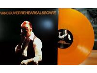 David Bowie Vancouver Rehearsals 1976 Live Bureau Supply 2LP Coloured Vinyl New Numbered Sealed