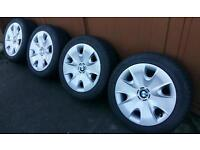 "Genuine BMW 16"" Wheels & Winter Tyres 1 & 3 series e36 e46 e90 e92 e87 e88 rims steel spare"