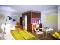 Studio flat in Lennon House - Penthouse-Student Accommodation - Bradford University Studios