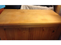 wooden storage pine box in real solid wood toy box blanket storage trunk
