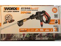 Worx 20V Max lithium Hydro Shot pressure cleaner