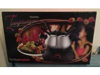 Electric Chocolate Or Cheese Fondue Maker From Temptations By Russell Hobbs