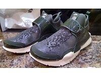 Nike x Stone Island Sock Dart Mid Olive **EXCLUSIVE** Size 9