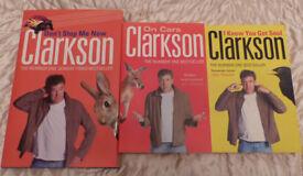 3 Books by Jeremy Clarkson.1 Hardback & 2 Paperbacks. £3.00