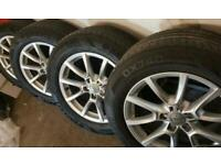 18'Audi Q5 alloy wheels and tyres