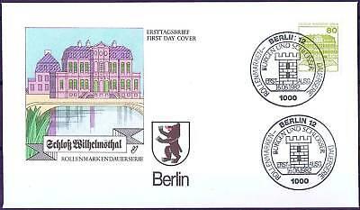 Berlin 1982: Schloß Wilhelmsthal! FDC der Nr. 674 mit Ersttagsstempeln! 1804