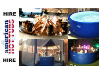 WEEK HOT TUB HIRE - ONLY £159