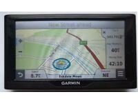 "6"" GARMIN nuvi 68LM Advanced GPS Sat Nav - Lifetime FULL EUROPE + 3D MAP - MINT! (no offers, please)"