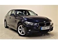 BMW 3 SERIES 2.0 318D SE 4d 141 BHP + 1 OWNER + SERVICE HISTORY (blue) 2013