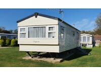2 bed caravan to hire/rent, White Horse, Selsey. Available 22nd Oct to 29th Oct.
