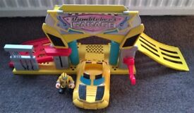 Hasbro Playskool Transformers Rescue Bots playset 'Bumblebee's Garage'