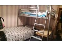 John Lewis Bunk Beds with desk.