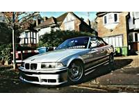 Bmw E36 328i convertible individual rare manual, bbs dares included in sale