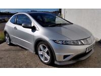 2008 HONDA CIVIC TYPE -S 2.2 I-CTDI -MOT 15/04/2018-SERVICED-FINANCE AVAILABLE-PART EXCHANGE WELCOME