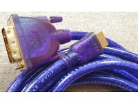 QED Qunex HDMI – DVI-P HD Multimedia Cable