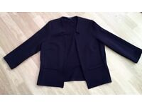 LADIES M & CO LIGHTWEIGHT JERSEY JACKET SIZE 10