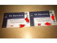 Ed Sheeran standing tickets 2x 22nd June 175ea ONO
