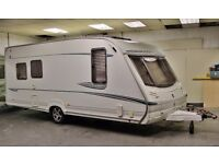 2004/05 ABBEY GTS 517 VOGUE 4/5 BERTH WITH BATHROOM AND MOTOR MOVER, - SEPARATE SHOWR -