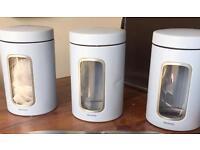 Brabantia Tea Coffee Sugar containers