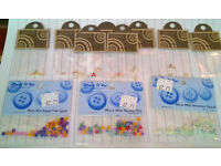 job lot of craft card making embellishments