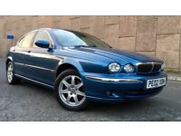 ~ 2002 JAGUAR X TYPE 2.1 V6 SE ~ MANUAL~ LONG MOT ~ HPI CLEAR ~ IMMACULATE CONDITION ~ MUST BE SEEN
