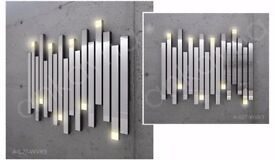 Decorative Wall Mirror A-027WVR3 With Led Lightning