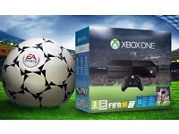XBOX ONE WITH FIFA 2016 (BRAND NEW BOXED UP)
