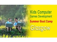 Kids Summer Computer Games Development Boot Camp Glasgow – Age 9 to 14 and 6 to 9