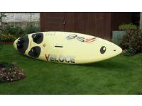 windsurfer. BIC VELOCE 298 full kit.