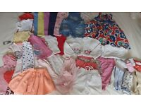 Baby Girl Clothes Age 18-24 months (36 items) Bundle 1