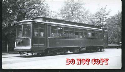 6G312 RP 1933/60s? CAPITAL TRANSIT CAR #19 POTOMAC PARK CAR WASHINGTON DC
