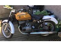 Jawa cz 125 bike