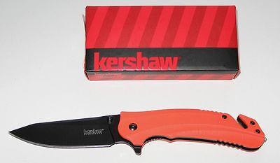 KERSHAW RESCUE RETTUNGSMESSER 8650 BARRICADE ASSISTED OPENING - NEU/OVP