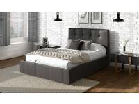 Dorado Faux Leather Bed Frame