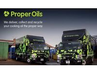 Experienced Driver required to collect & deliver cooking oil (HGV training provided)