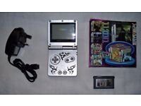 Nintendo Gameboy advance SP with charger and 112 game cartridge!!!!