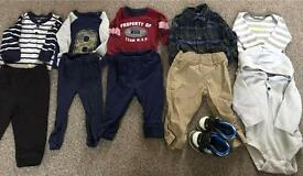 Baby Boy Clothes (size 6 to 9 months)