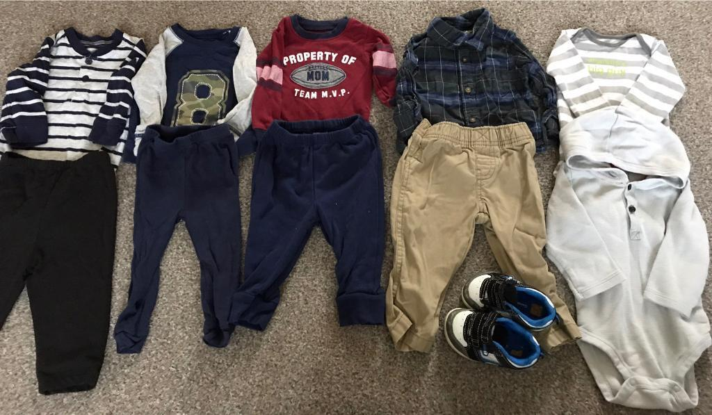 Baby Boy Clothes (size 6 to 9 monthsin Peterculter, AberdeenGumtree - Bundle of boy clothes size 6 to 9 months. From a smoke free and pet free home. Please text if interested