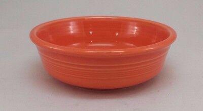 Fiestaware Poppy Small Bowl Fiesta Bright Orange Small 14.25 ounce Cereal Bowl  14.25 Ounce Small Bowl