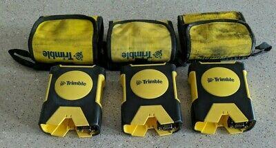 Lot Of 3 Trimble Gps Pathfinder Pro Xh Pro Series Receiver 52240-00 No Batteries