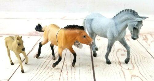 Breyer By CollectA Lot of 3 Trakehner Stallion, Przewalski