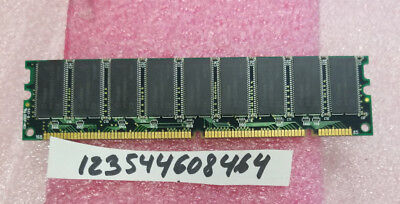 1PCS OF 256MB SDRAM SDR SD MEMORY RAM PC100 168PIN ECC NON-REG DIMM 16X8 (256mb Sdram Dimm 168 Pin)