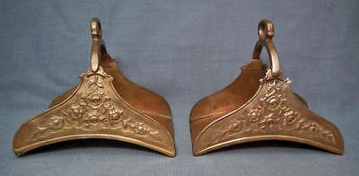 Rare Antique 18 Century Islamic Turkish Ottoman Tombak Saddle Stirrups to sword
