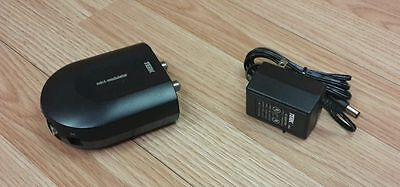Terk Compact Single Input Mini RF Modulator Video Converter With Power Supply