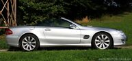 Mercedes SL R230 350 Test