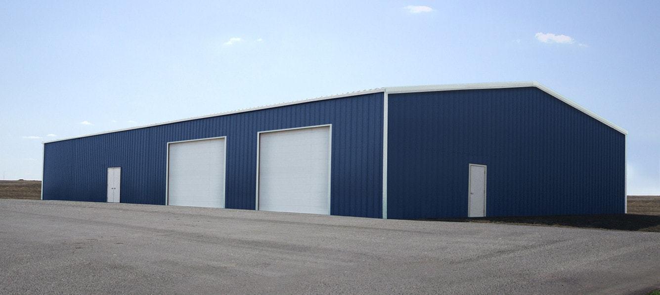 Steel Building 50x100 SIMPSON Metal Building Kit Garage Barn Prefab Workshop